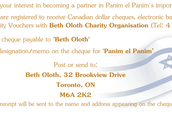 Click image to donate via Beth Oloth.
