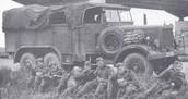 Prisoners Amongst a Gas Van