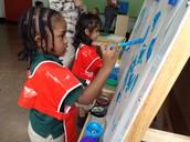 We paint...