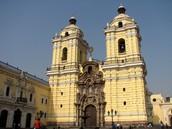 El monasterio de San Francisco en Lima