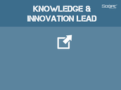 Knowledge & Innovations Lead