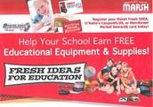 Marsh Fresh Ideas for Education