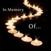 In Memory of Mr. Hawxhurst...