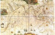A map of Abel Tasmans trips