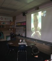 Skype Session with Ms.Taylor