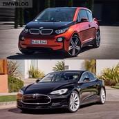 BMW I3 & TESLA MODLE S