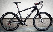 Mountain bike. This extraordinary mountain bike is the perfect fit for all!