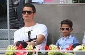 ronaldo and son