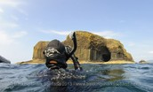 Scuba-Diving lessons in Scotland's finest cave!