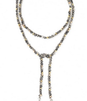 Zoe Lariat Necklace. **SOLD**