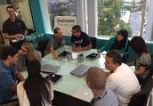 Qualcomm's Ed Hidalgo Orients Teachers to the Lab
