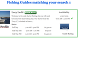 Book Guide Packages on ReserveFishing.com without leaving your site