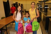 Irving ISD students ready for school!