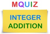 About MQuiz Integer Addition
