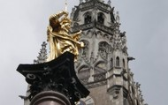 1. Marienplatz - Marien Square and the New Town Hall of Munich