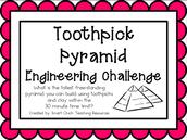 3rd Grade-Toothpick Pyramid
