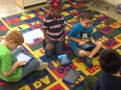 Kindergarten Technology in Mrs. Buffaloe's class