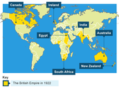 Major Countries Colonized by Britain