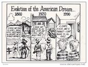 Evolution of the American Dream