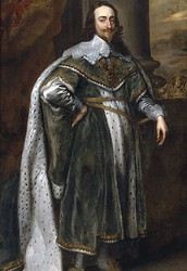 Charles the first of England