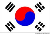 THE FLAG Of SOUTH KOREA
