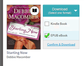 "Click the ""Download"" button, select ""EPUB eBook,"" then tap ""Confirm & Download."