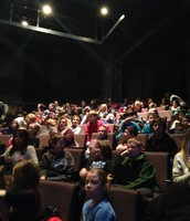 The third grade waiting for Beauty and the Beast at the Arden Theater