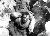 Harsh reality - trench warfare