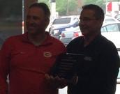 Congrats Coach Snodgrass!