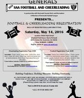 Shiloh Athletic Association Football/Cheer Registration