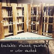 Custom Pallet shelf
