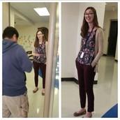 Spotlight on Ms. Hamm!