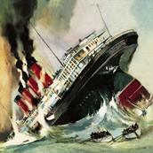 what happen when it sank