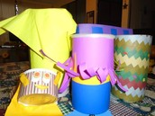 Making a drum: because the music is pleasing to God and is a way of expressing ourselves.