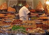 Morocco pastries