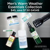 Men's Warm Weather Essentials Collection