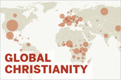 Outside of the united states ,in what regions of the world is this religion predominantly found?