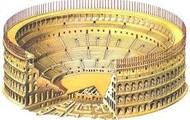 A roman coliseum