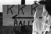 Ky Klux Klan Rally Sign