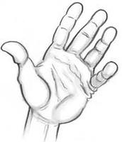 Killer Kane's hand