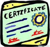 零售管理培訓班證書
