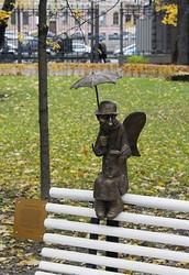 St. Petersburg's Angel (Ismailov garden, Fontanka)