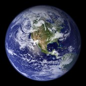 How many square miles is the Earth