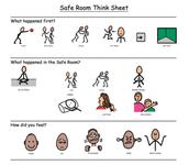 Safe room think sheet