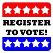 Register to vote for 2016 Presidential Primaries!