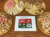 A sweet treat for our Pillow staff! Happy Diez y Seis!