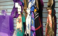 Scarves are on sale 50% off