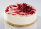 Dessert - Strawberry Cheesecake
