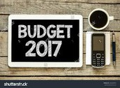 Budgets due Friday, October 21st