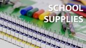 School Supplies - Now Online